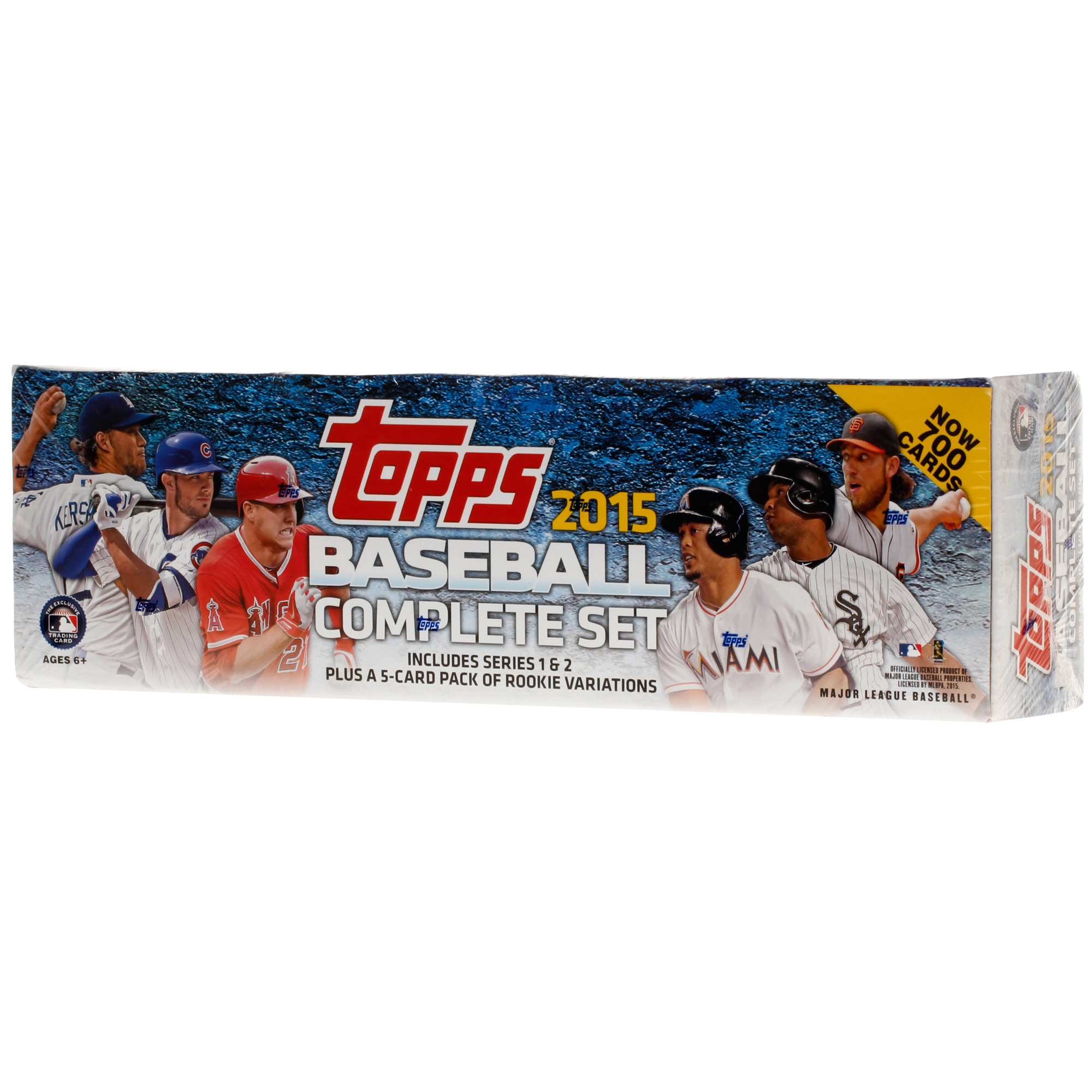 2015 Complete Baseball Trading Card Set with Rookie Variation Pack - No Size