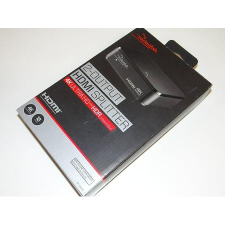 Rocketfish RF-G1603 2 Output HDMI Splitter -
