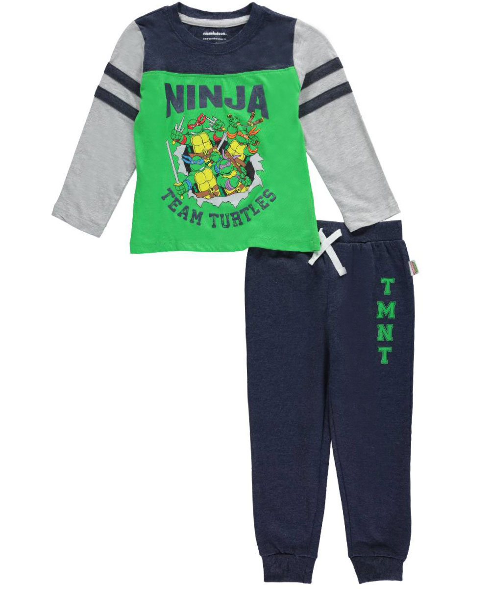 Boys Teenage Mutant Ninja Turtles 2 Piece Outfit New Toddler Size 2T