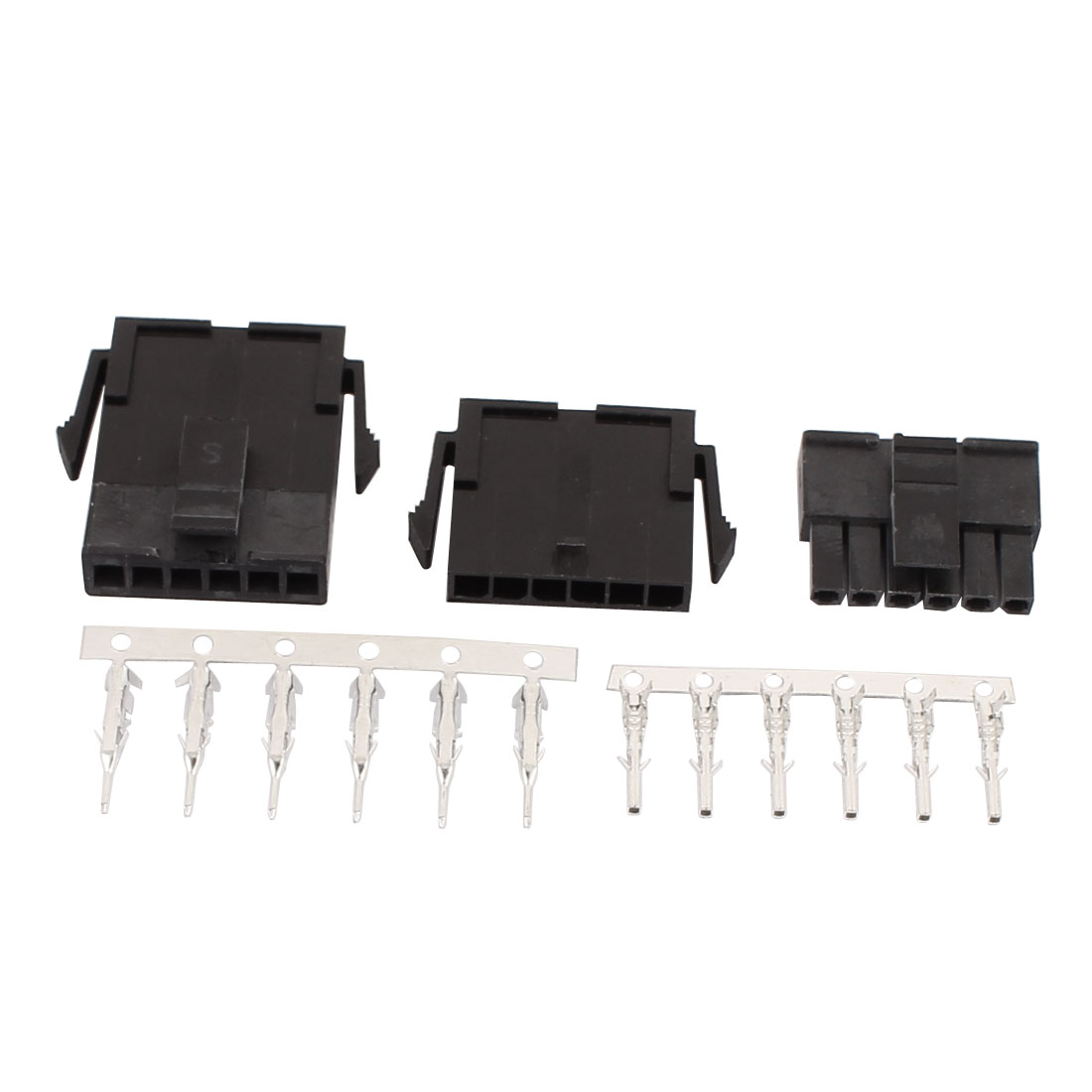 20 Paires 6 Broche Plastique Noir male + Femelle 3.0mm Pitch 6 Broche Connecteur Terminal - image 1 de 2