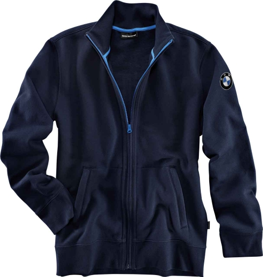 BMW Genuine Motorcycle Motorrad GS sweatshirt jacket (unisex) Navy Blue Size XS