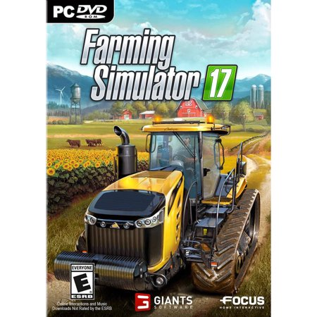walmart exclusive farming simulator 17 pc. Black Bedroom Furniture Sets. Home Design Ideas