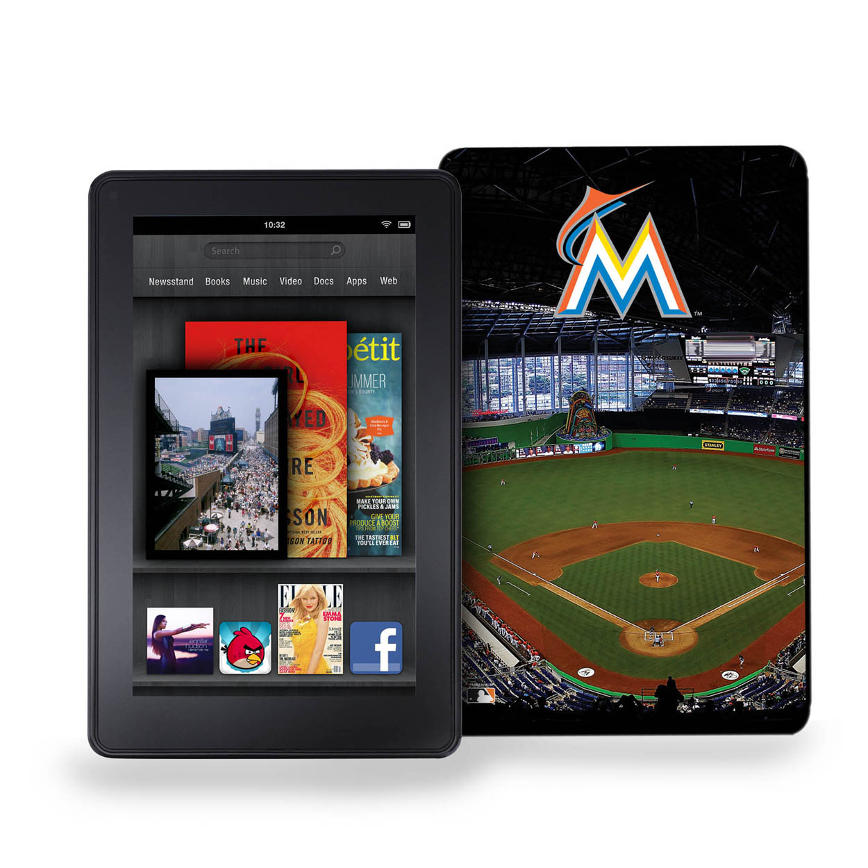 Keyscaper Kindle Fire Case Stadium - Miami Marlins