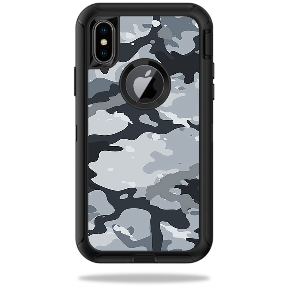 MightySkins Skin For OtterBox Defender iPhone X | Protective, Durable, and Unique Vinyl Decal wrap cover | Easy To Apply, Remove, and Change Styles | Made in the USA