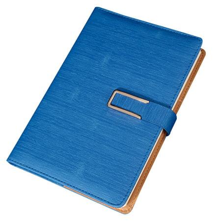 GeweYeeli Office School Stationery Supplies PU Leather Cover Notebook Buckle Diary Travel Note Books Journal Agenda Leather Travel Agenda