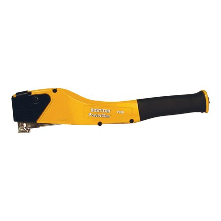 Bostitch PowerSlam Hammer Tacker Yellow Black
