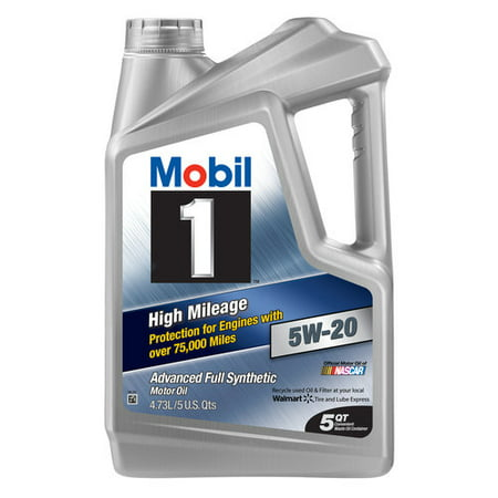 mobil 1 5w 20 high mileage advanced full synthetic motor