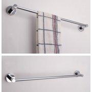 Stainless Steel Single Towel Bar Rail Rack Holder Rod Bathroom Wall Mounted