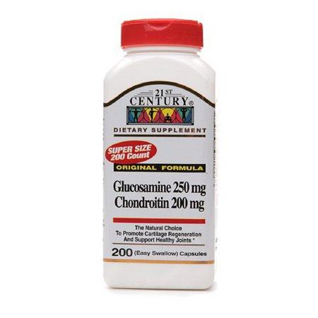 Image of 21St Century Glucosamine And Chondroitin Original Formula - 200 Capsules