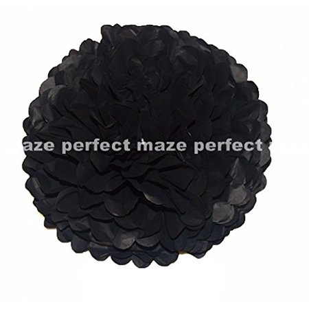 Perfectmaze Tissue Paper Pom Pom Wedding/Baby Shower/Birthday Party/Nursery Decorations (6