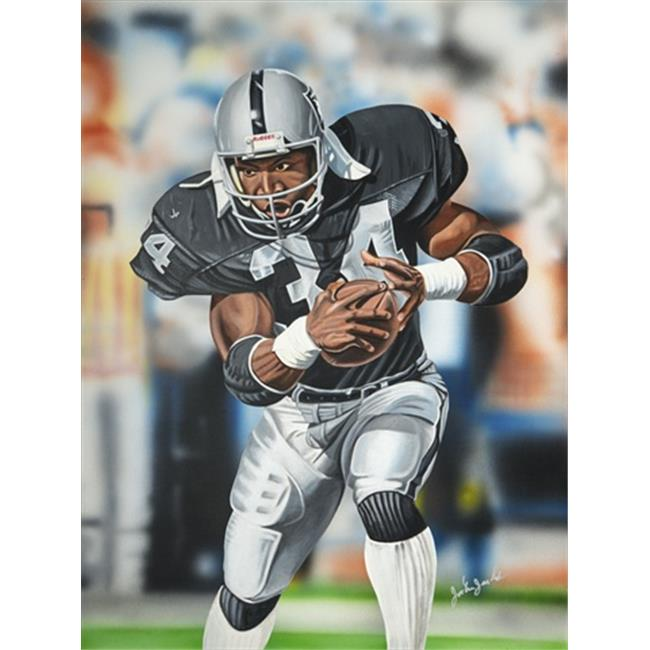 Deacon Jones Foundation JJ-03SW Intensity Art Print, by Joshua Jacobs - Stretched and Wrapped