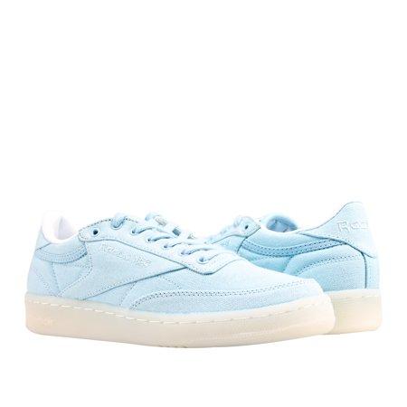 94f7f419e4b95 Reebok - Reebok Classic Club C 85 Canvas Zee Blue/White Women's Tennis  Shoes BD2841 - Walmart.com