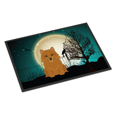 Halloween Scary Norwich Terrier Door - Scary Halloween Door Decorating Contest Ideas