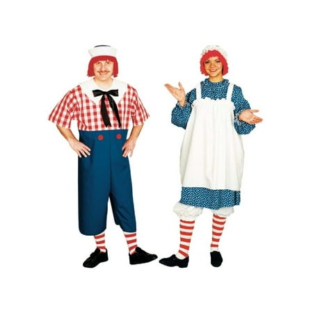 Raggedy Andy and Raggedy Ann Couples Costumes - Couples Costume Ideas Funny