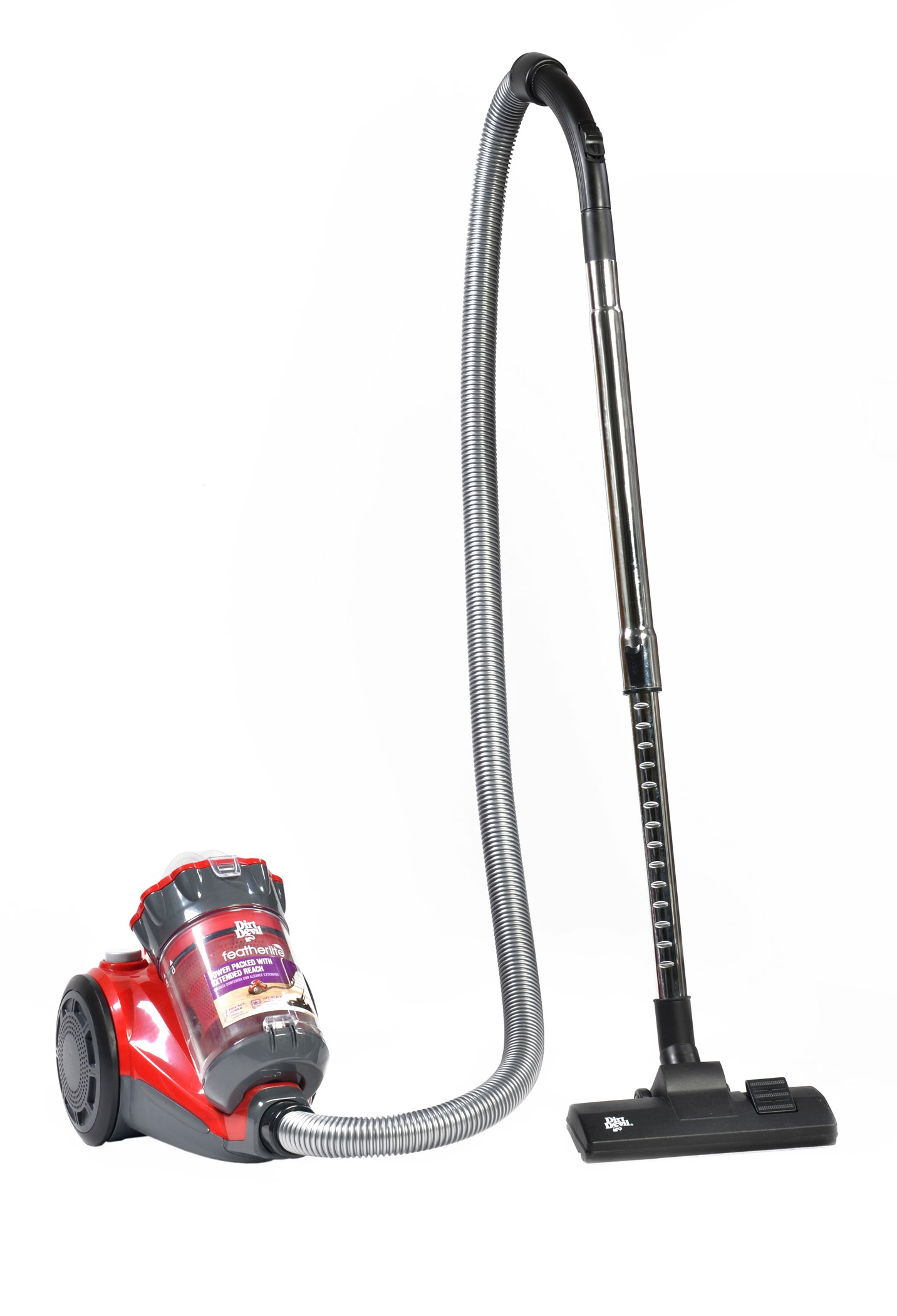 Dirt Devil Feather Lite Lightweight Cyclonic Canister Vacuum 10 Ct Bissell Carpet Cleaner Parts Diagram Further Breeze Bagless