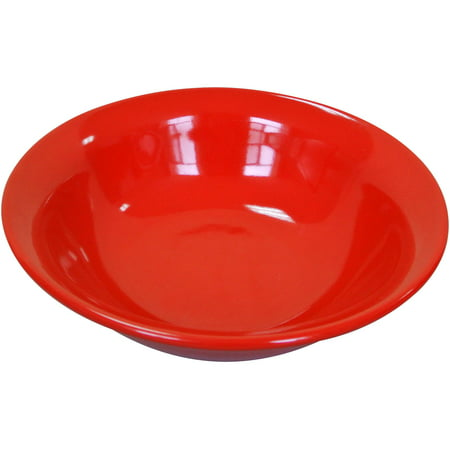 Mainstays Bright Red 4-Pack Stoneware Bowls - Red Paper Bowls