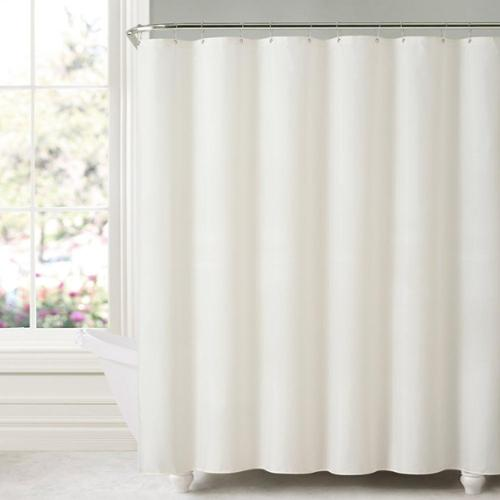 Mildew-free Water-repellent Fabric Shower Curtain Liner Sage