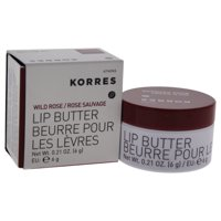 Lip Butter - Wild Rose by Korres for Women - 0.21 oz Lip Balm