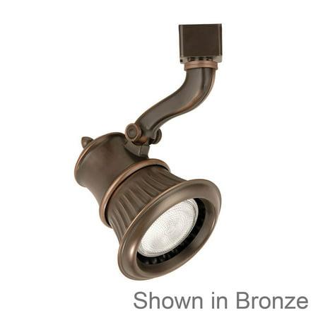 wac lighting 50w railto par20 antique bronze h series track head