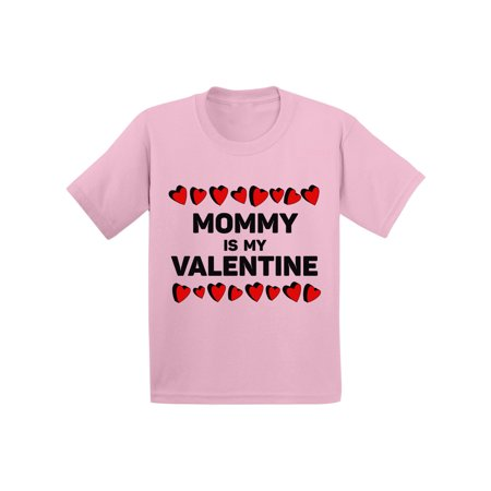 Awkward Styles Mommy is My Valentine Tshirt for Toddler Boys Cute Gifts for Boys Mom Boys Valentine Shirt Funny Valentines Tshirt for Toddler Boys Valentine Gifts for Kids Cute Mama's - Valentine T Shirts For Toddlers