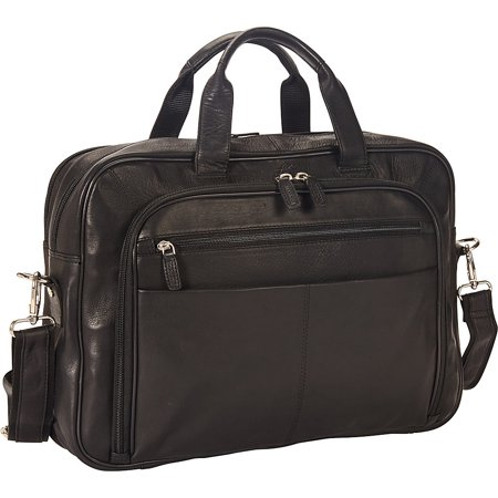 Collection Briefcase - Colombian Collection 15 Laptop Double Compartment Briefcase