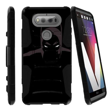 Case for LG V20, V20 Case[Clip Armor] Shockproof Hybrid Kickstand Case V20 with Kickstand and Holster by Miniturtle® - Dark Knight](Dark Knight Cowl For Sale)