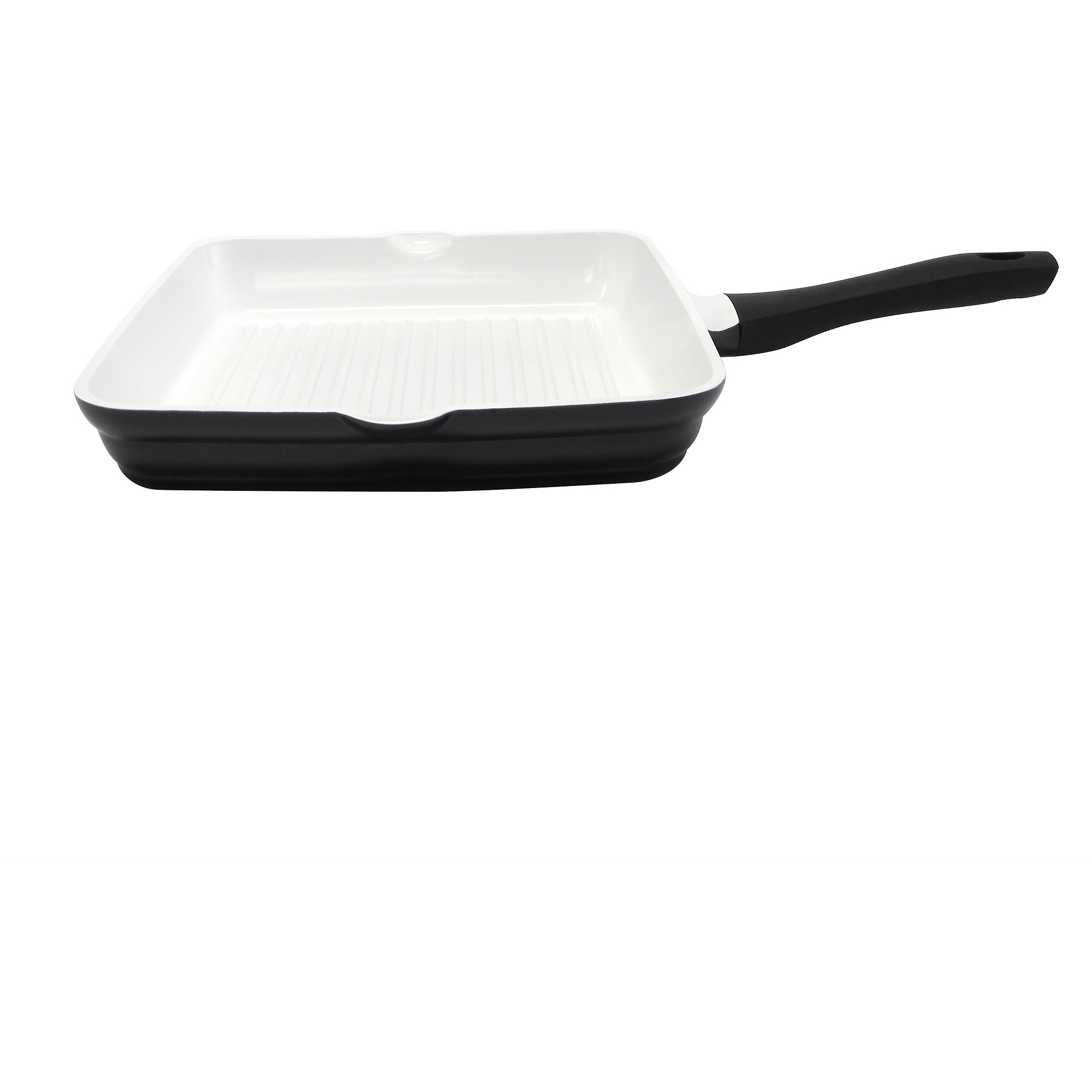 "CeraCast 11"" Ceramic Non-Stick Grill Pan"