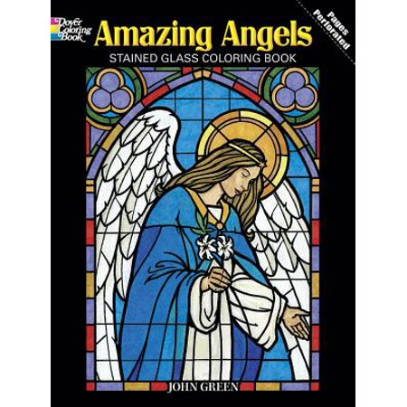 Amazing Angels Stained Glass Coloring Book ()