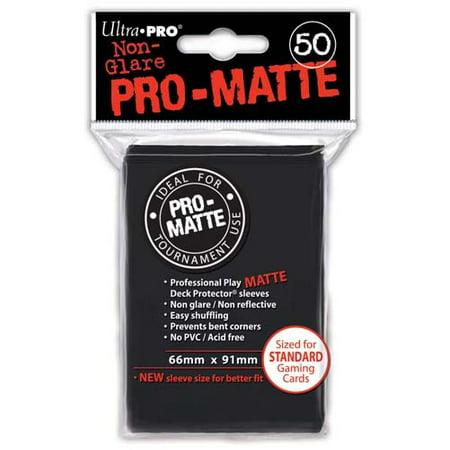 Ultra Pro Pro-Matte Black Deck (Pyro Deck)