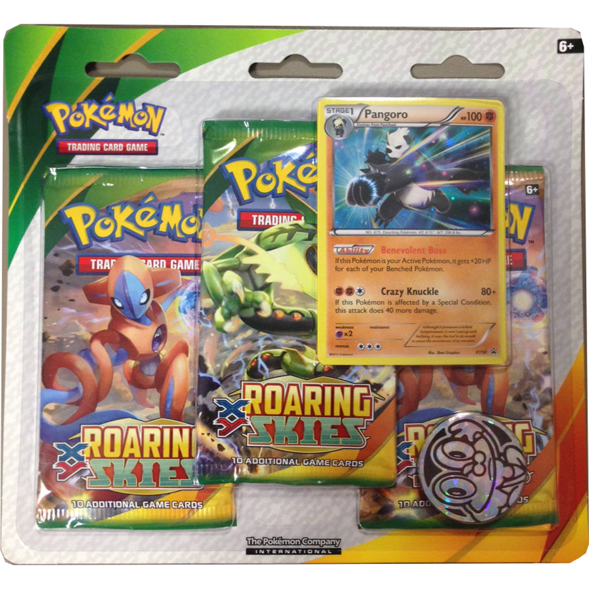 Pokemon X & Y 6 Double Blister, 3 Pack
