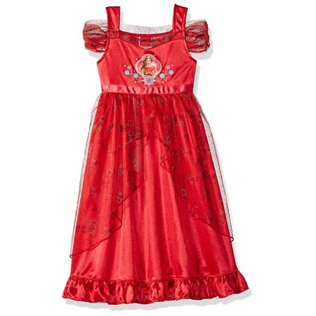 Disney Elena of Avalor Nightgown for Girls Red