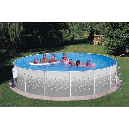 """Heritage 18' x 42"""" Fun'n Sun Club Steel Wall Above Ground Swimming Pool by Generic"""