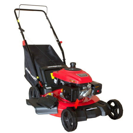 "PowerSmart DB2194PR 21"" 3-in-1 Gas Push Lawn Mower 170cc with Steel Deck"