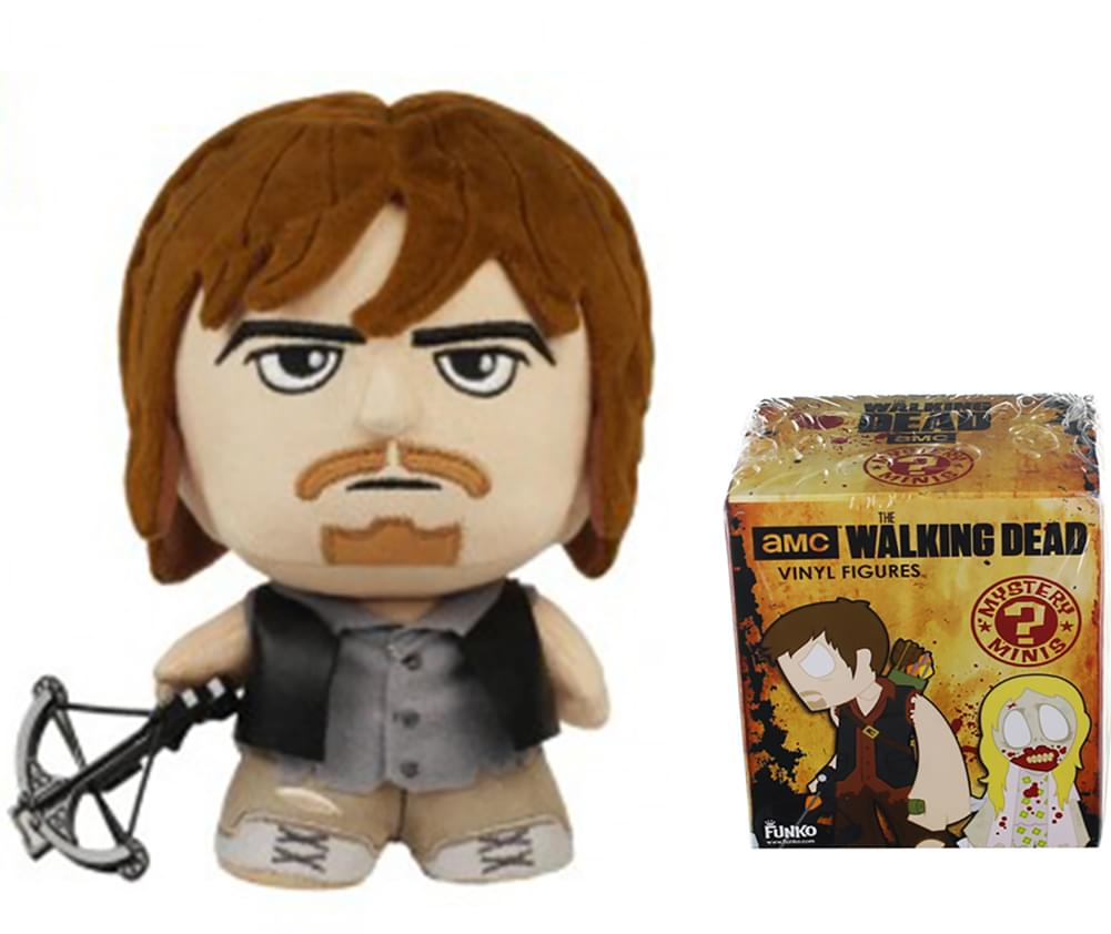 The Walking Dead Series 4 Mystery Mini Vinyl Figure NEW Toys Qty 1 Collectibles
