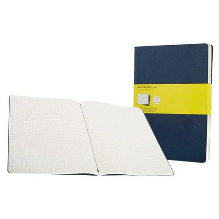 Moleskine Cahier Journals   Extra Large   7 5   X 10     Square    Indigo Blue