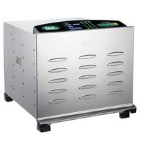 Big Bite Digital Stainless Steel Dehydrator (w/10 Chrome Trays)
