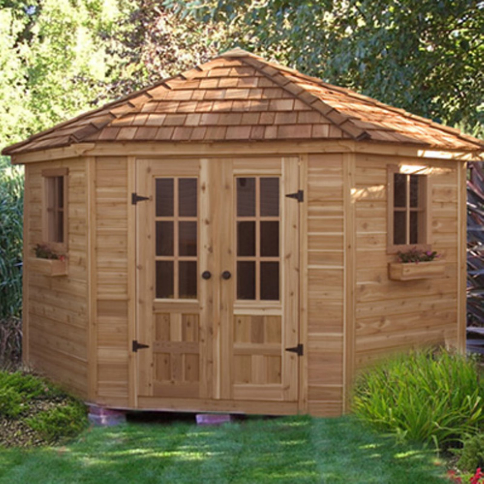 Outdoor Living Today PEN99 Penthouse 9 x 9 ft. Garden Shed
