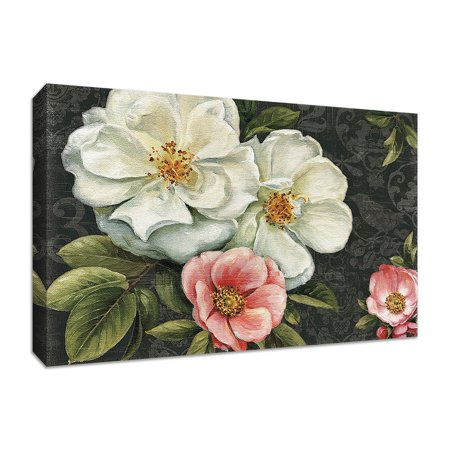 "Floral Damask I by Lisa Audit, 30"" x 20"" Fine Art Giclee Print on Gallery Wrap Canvas, Ready to Hang"