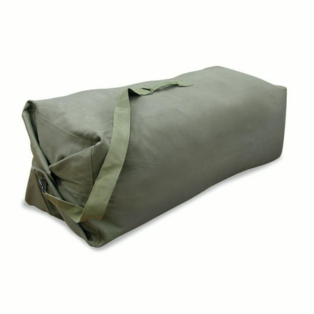 3e02f29393a Stansport Duffel Bag with Strap - O.D. - 42