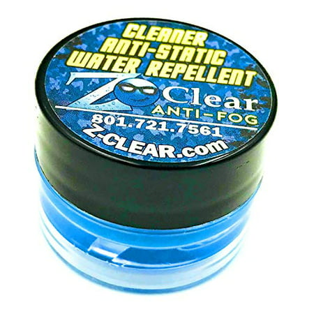 Long Lasting Z-Clear Anti Fog for Ski Goggles and Eye Glass Lens Defogger