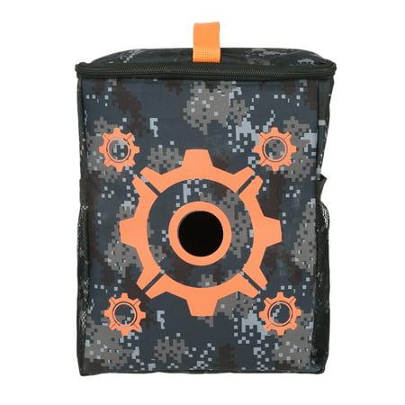 - Yosoo Portable Purpose Target Pouch Storage Carry Equipment Bag for Toy Guns Darts Elite, Target Pouch Storage Carry Bag