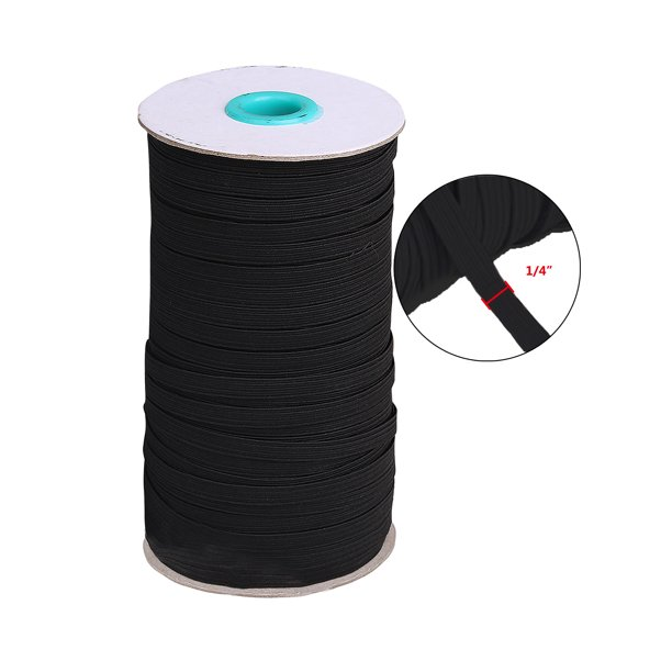 Selfieee 75 Yards 1 4 Wides Elastic Band For Masks Stretch Strap