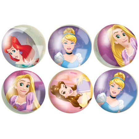 Disney Princess Bouncy Ball Party Favors, 6ct