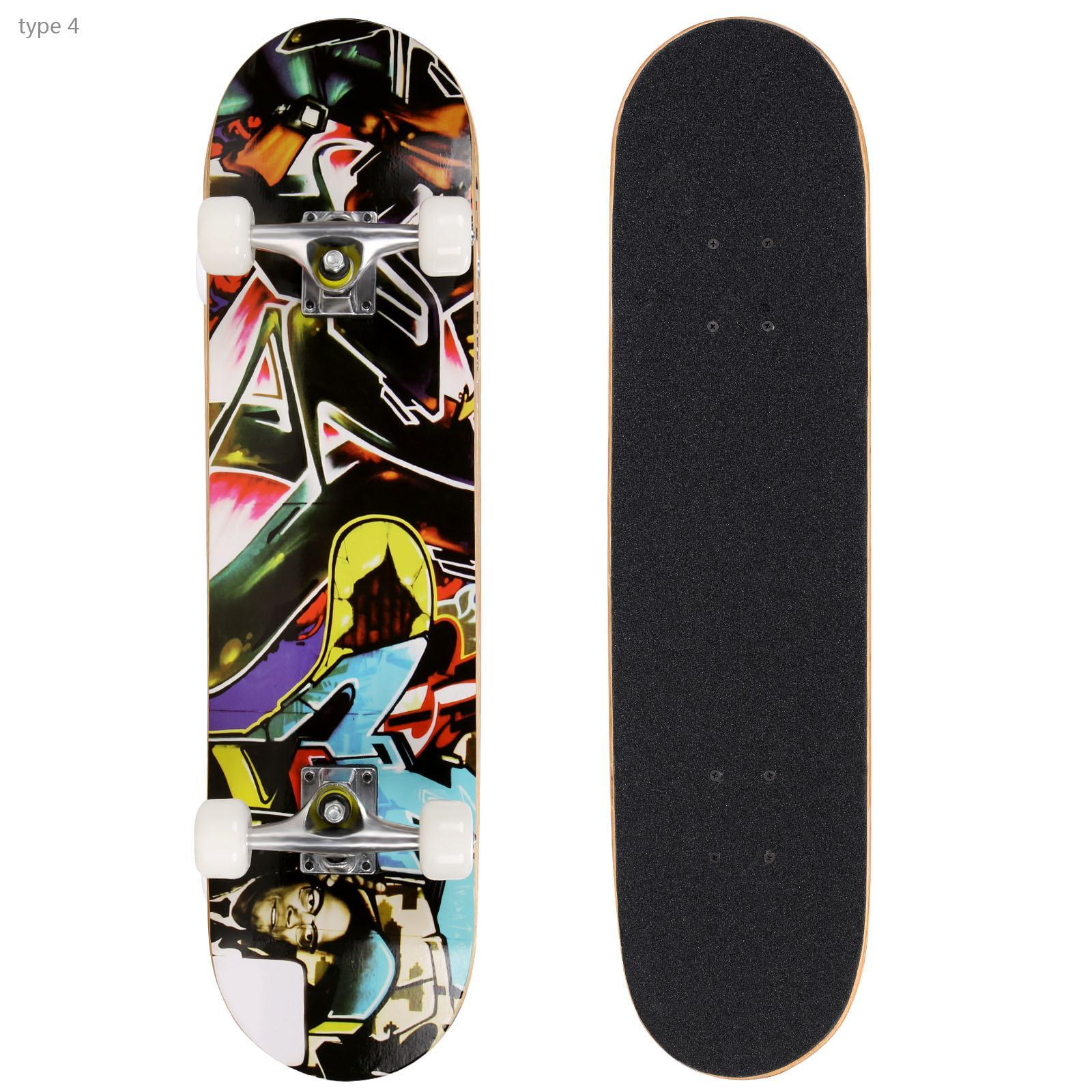 """30.6"""" Long-board Complete Deck Skateboard for Boys and ..."""