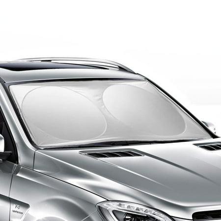 160*86 CM Auto Car Sun shade Windshield Cover Visor Foldable Protector Sunshades Awning Shade 63 X 33.86 inches(Ohuhu)