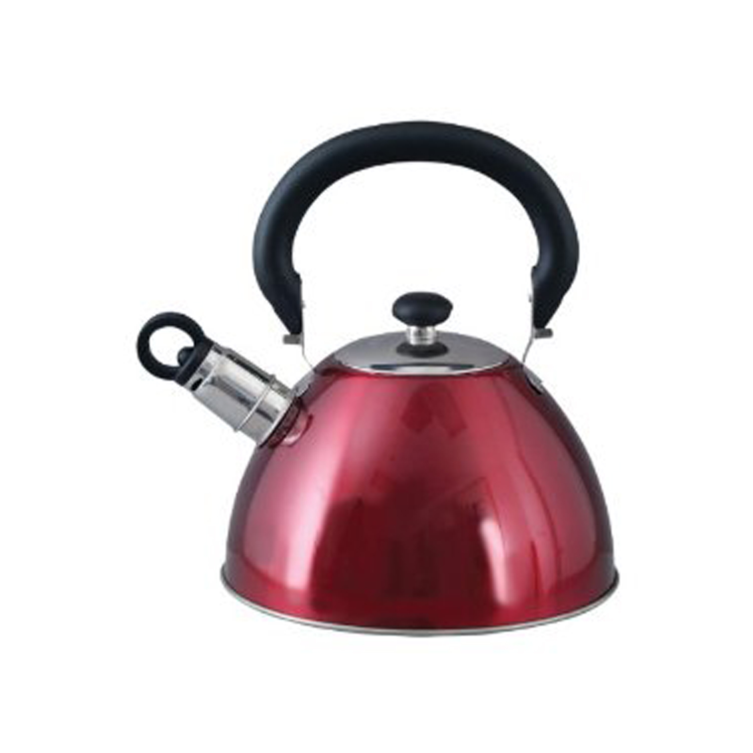 Gibson Morbern 1.8-QuarTea Kettle in Red