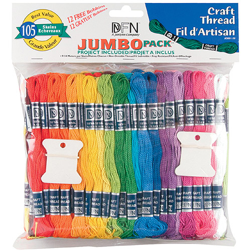 Janlynn Craft Thread, 105/pkg