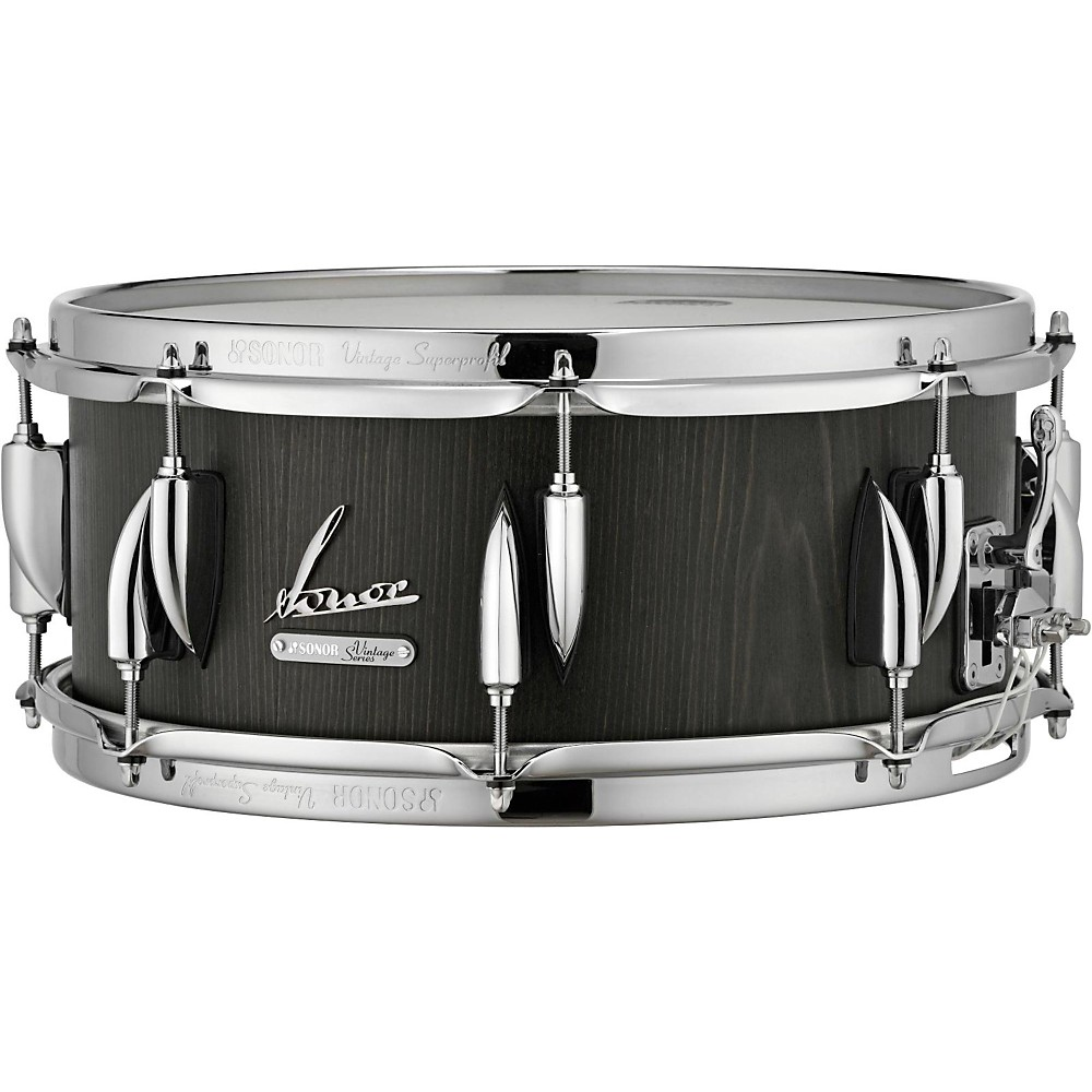 Sonor Vintage Series Snare Drum 14 x 6.5 in. Vintage Onyx