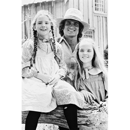 Melissa S Anderson, Melissa Gilbert and Michael Landon in Little House on the Prairie 24x36 (Melissa Anderson From Little House On The Prairie)
