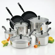 Farberware Classic Series II Stainless Steel 12-Piece Cookware Set